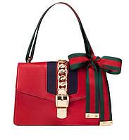 Сумка сумочка женская в стиле бренда красная реплика, фото 1