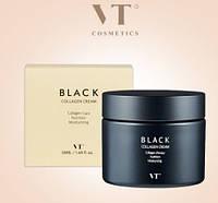 Крем для лица премиум с черным коллагеновым комплексом в микрокапсулах VT Black Collagen Capsule Cream 50мл, фото 1