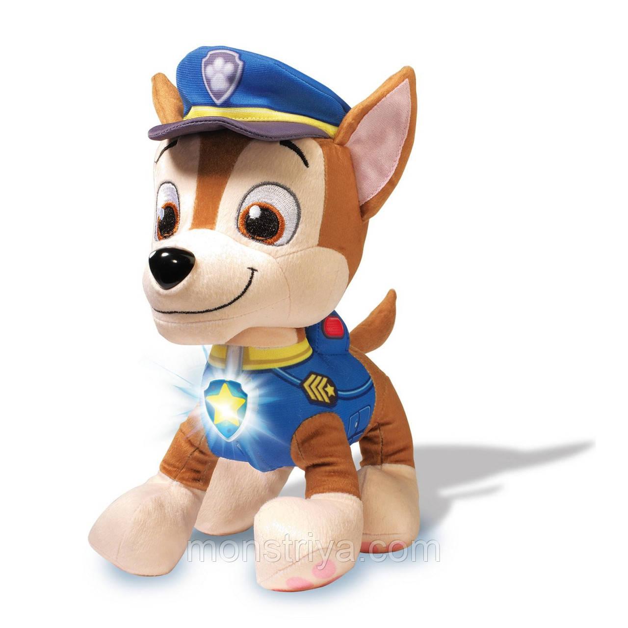 Игрушки Щенячий патруль (Paw Patrol) Чейз говорящий, фото 1