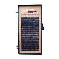Искусственные волоски черные для бровей WowBrow