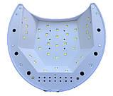 Гибридная светодиодная UV/LED лампа SUN 2 C на 48 вт (Сан ван ) с таймером 10,30,60,90 сек., фото 4