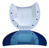 Гибридная светодиодная UV/LED лампа SUN 2 C на 48 вт (Сан ван ) с таймером 10,30,60,90 сек., фото 3