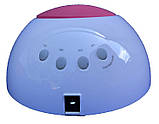 Гибридная светодиодная UV/LED лампа SUN 2 C на 48 вт (Сан ван ) с таймером 10,30,60,90 сек., фото 2