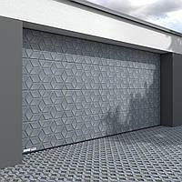 Секционные гаражные ворота kruzik 5000x2000