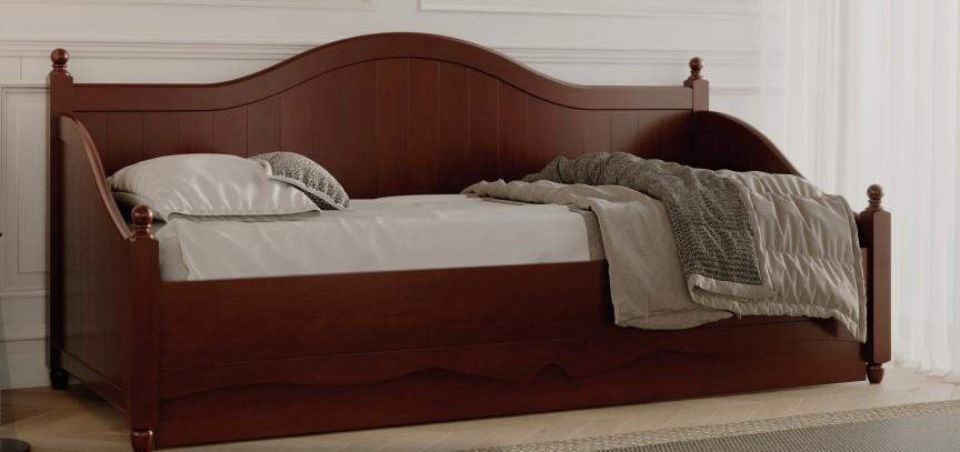 Дерев'яне ліжко Прованс-1