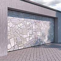 Гаражные секционные ворота kruzik 3000x2250