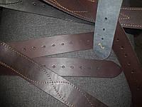 Полоса армейская кожаная коричневая