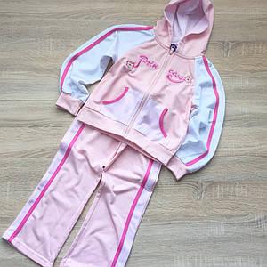 Костюм-комплект для девочки розовый 116 см. only kids