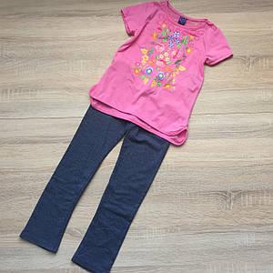 Комплект для девочек кофта+лосины от only kids 6X