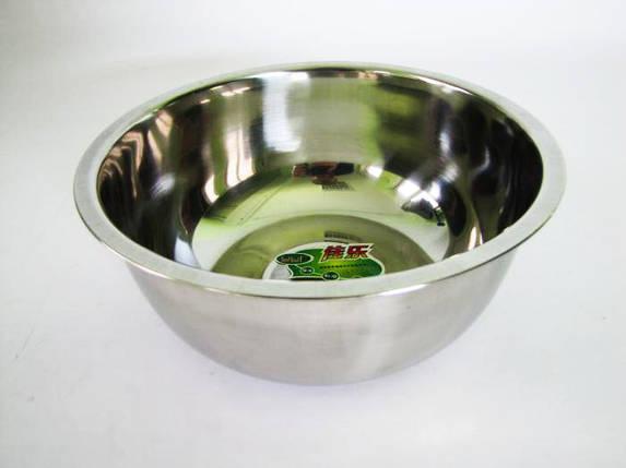 Миска из нержавеющей стали 1,4 л (глубокая) Vitol, фото 2