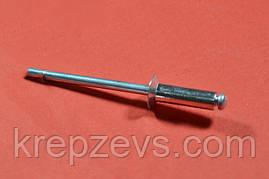 Заклепка Ф4 DIN 7337 с потайным буртиком нержавеющая