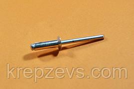 Заклепка Ф4.8 DIN 7337 с потайным буртиком нержавеющая