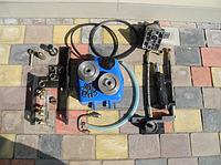 Гидравлическая система навесного механизма DW120/DW120B