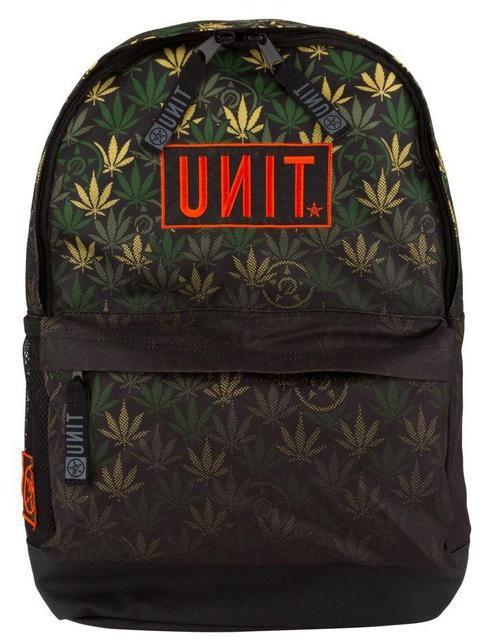 Городской рюкзак с коноплей