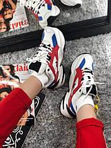 Размер 42 и 44 !!! Мужские кроссовки Nike MK2 Tekno Red /найк / реплика (1:1 к оригиналу), фото 2