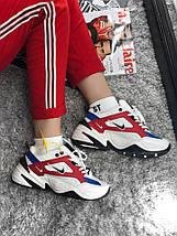 Размер 42 и 44 !!! Мужские кроссовки Nike MK2 Tekno Red /найк / реплика (1:1 к оригиналу), фото 3