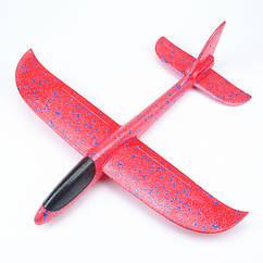 Планер метательный EXPLOSION красный, размах крыльев 49 см.