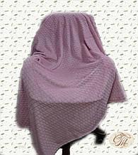 """Плед-покривало з бамбукового волокна """"Shang Hay Кубики рожеві (200х230см)"""