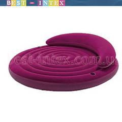 Надувная двуспальная кровать-диван Intex 68881 (193-53 см.)