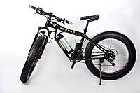 Детский велосипед электрический Ультра байк Ferrari современный крутой с двигателем мощностью 500 ВТ Черный