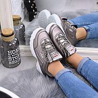 Кроссовки женские Fila Raptor бронза 5338 спортивная обувь, фото 1