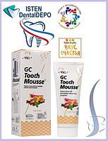 Крем ФРУКТОВЫЙ Tooth Mousse [Тус мус Тусс мусс], 40 гр.| 35 мл., фото 1