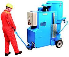 Модель MaxVac ECO, промышленный пылесос мощностью от 11 до 22.6 кВт.
