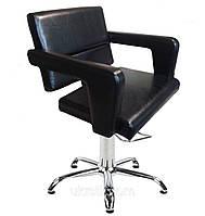 Парикмахерское Кресло Фламинго на пневматике Крестовина Хром, кожзаменитель Rainbow-2502 (Frizel TM)