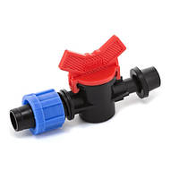 Кран стартовый с резинкой Presto-PS для капельной ленты 16 мм (OV-031708-R) для систем капельного полива