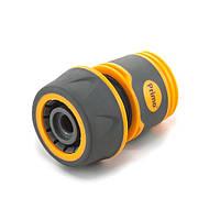 Коннектор (5819-E) для шланга 3/4 дюймаприменяется вместе с резьбовыми адаптерами и кранами