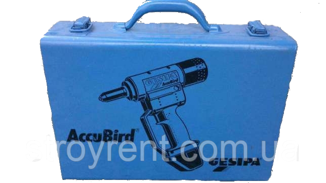 Аккумуляторный заклепочник Gesipa AccuBird - аренда, прокат, фото 2
