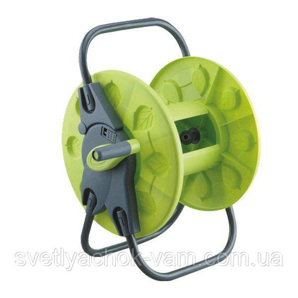 Котушка (3201G) для поливального шланга вміщує від 30 до 60 метрів шлангу діаметром 1/2, 5/8-і 3/4 дюйма