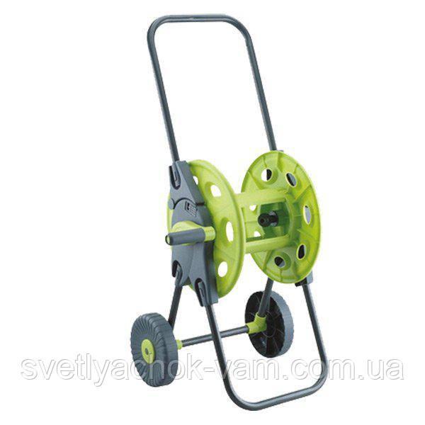 Візок (3301G) для поливального шланга вміщує від 25 до 45 метрів шлангу діаметром 1/2, 5/8-і 3/4 дюйма