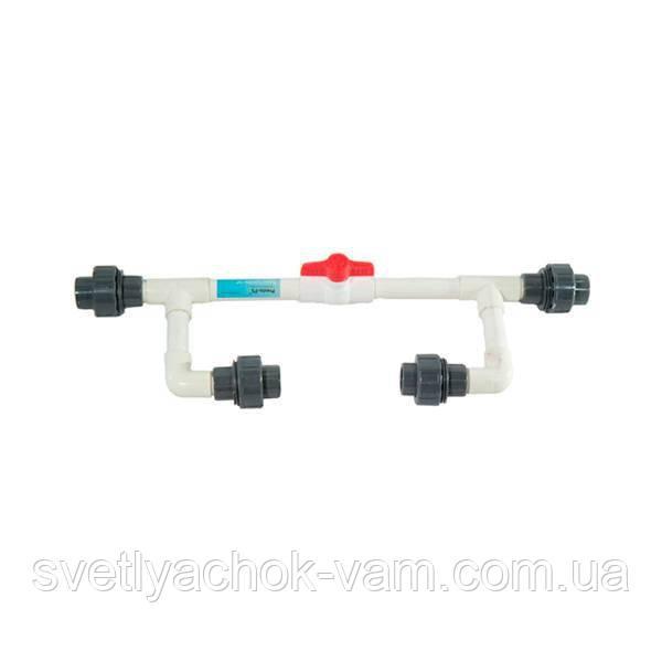 Инжекторный узел байпас ВА-0110В 1 дюйм для регулировки подачи удобрений в систему капельного полива