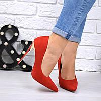 Туфли женские на шпильке Fancy красный 5342, женская обувь, фото 1