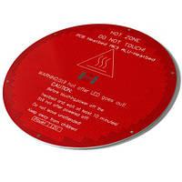 Нагревательная платформа КРУГЛАЯ стол MK3 ALU 12/24В дельта 3D-принтера 10.03847