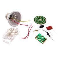 Конструктор LED лампа, лампочка 2.4Вт, СОБЕРИ САМ | код: 10.03136