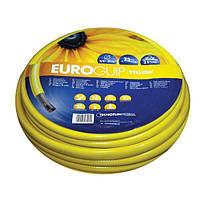 """Шланг садовый диаметр 1/2"""" длина 25м стойкий к ультрафиолету и механическим воздействиям Италия желтый"""