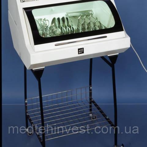 УФ-камера ПАНМЕД-1С (середня) зі скляною кришкою для зберігання стерильного інструменту