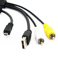USB AV кабель Nikon UC-E6 D5000 S3000 Olympus FE-150 T-100 2000-00654