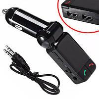Автомобильный FM-модулятор Bluetooth Handsfree 2x USB зарядка | код: 10.03931