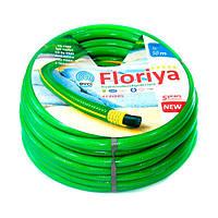 Шланг поливочный Evci Plastik Флория FL 1D 50 диаметр 1 дюйм, длина 50 м устойчив к прямым солнечным лучам, фото 1