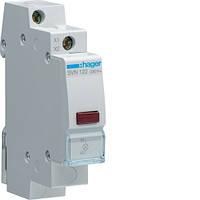 Индикатор LED красный Hager SVN122, 230В