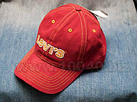 Levi's® Burgundy Twill Logo Cap кепка мужская, фото 1