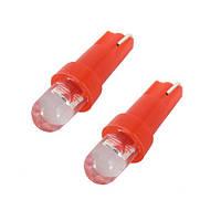 10x LED T5 лампа в автомобиль, подсветка, красная 10.03485