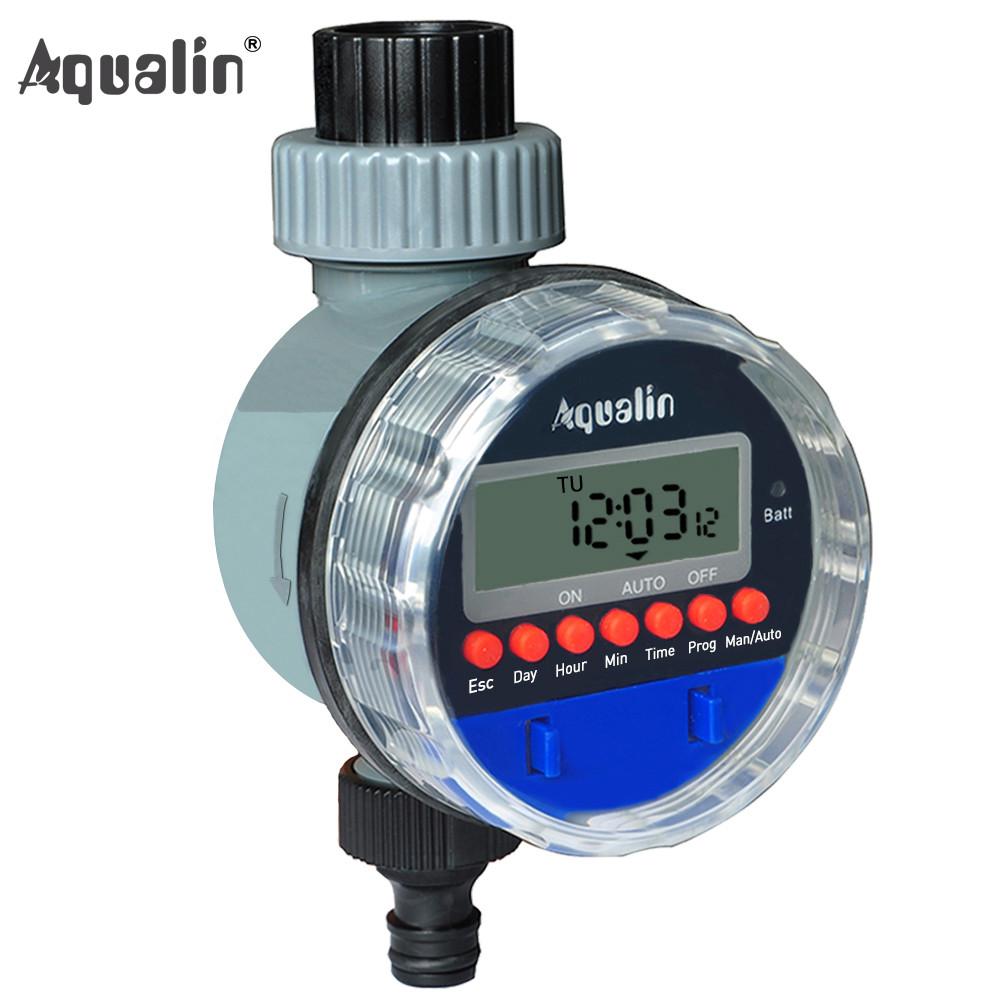 Aqualin YL21026 автоматический таймер полива с шаровым клапаном 10.02990