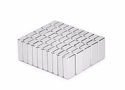 Магниты неодимовые сильные 15 x 5 x 3 мм N50 10шт 2000-04437