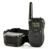 Электронный ошейник для дрессировки собак с пультом ДУ | код: 10.02627