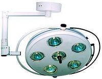 Светильник операционный L2000 6-II шестирефлекторный потолочный