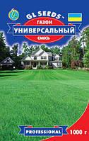 Семена газонной травы Универсальный смесь многолетняя устойчивая, коробка 1000 г